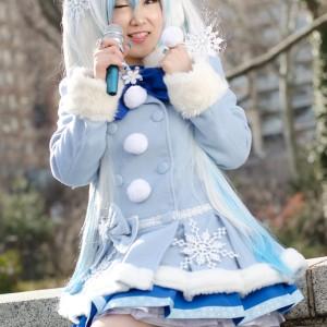 Snow Miku Hatsune - Vocaloid