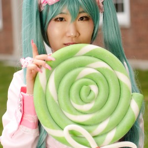 Lots Of Laughs Miku Hatsune - Vocaloid