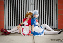 Evangelion Maid Asuka & Rei